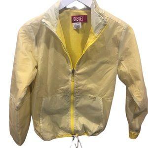 Diesel kids yellow kids jacket windbreaker